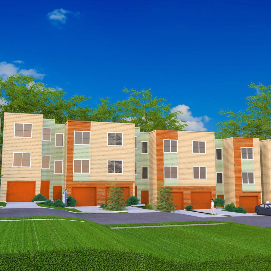 The Banks under Construction